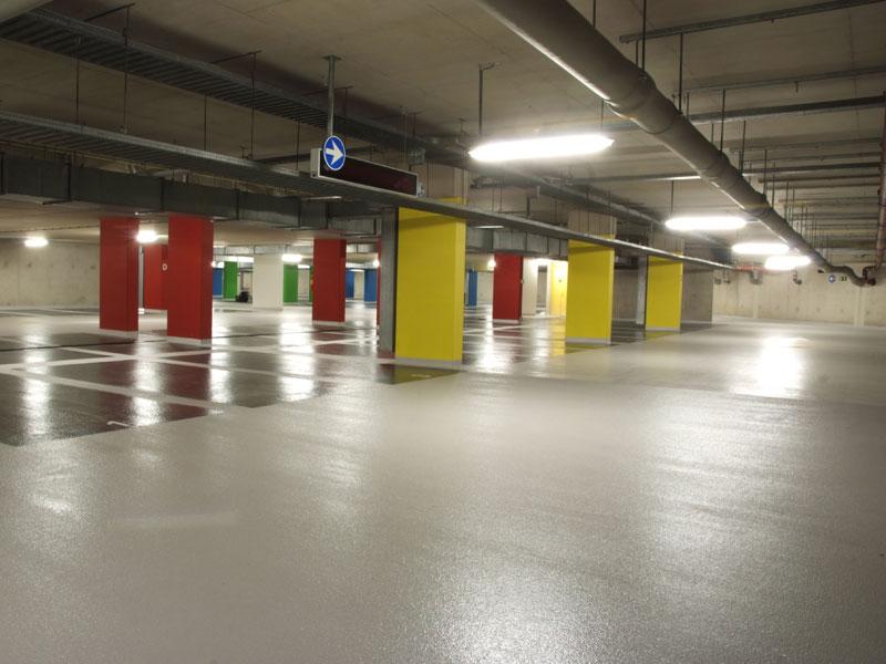 vloercoating parkeergarage